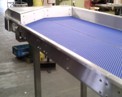 Custom Built Stainless Conveyor