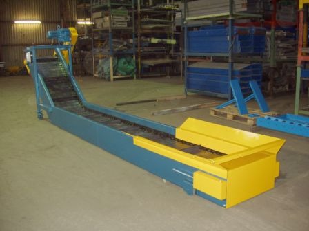 steel hinge belt conveyor
